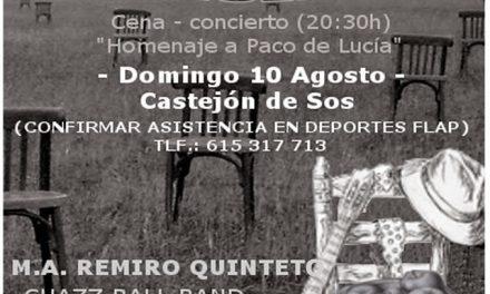 Cena y jazz (lunes, 10)