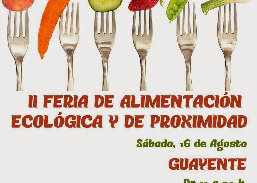 Feria de Guayente (sábado 16)