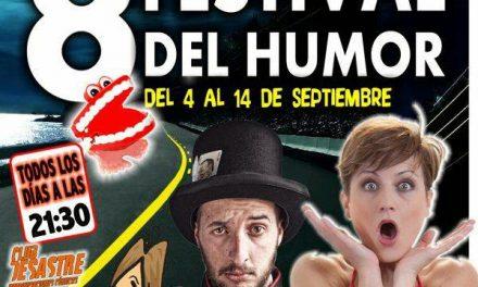 Octavo Festival del humor (el 4 al 14)