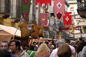 Mercado medieval (del 30 de agosto al 1 de septiembre)