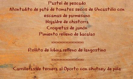 Menú degustación en el restaurante Uncastelo (del 4 al 9)