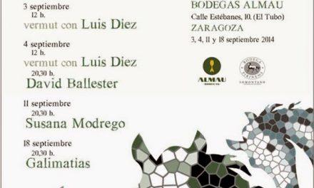Muestra Creativa Pirineos- Almau (días 3, 4, 11 y 18 de septiembre)