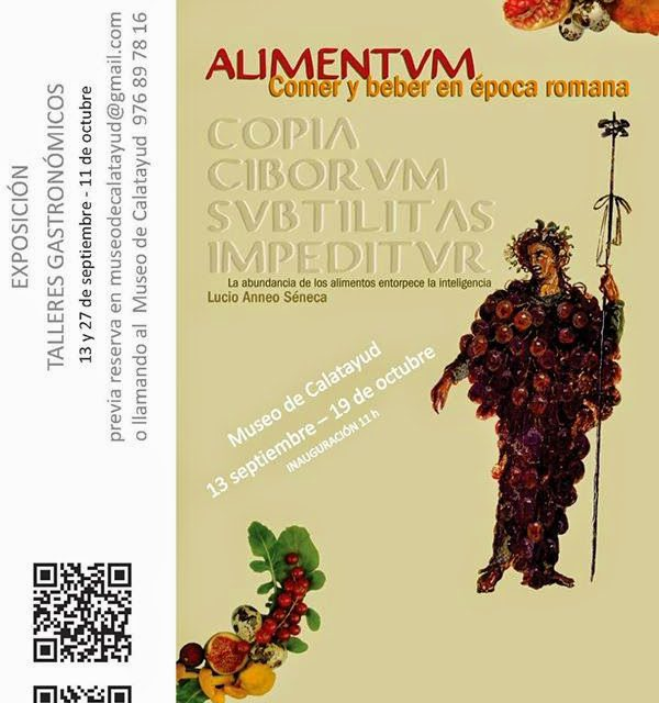'Alimentum', exposición y talleres gastronómicos (sábado 13 – 19 de octubre)
