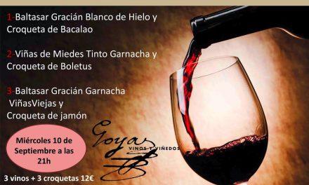 Cata de vinos y croquetas (miércoles, 10)