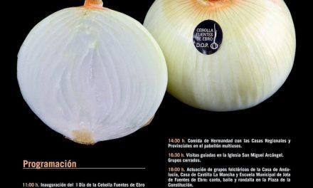 Día de la cebolla Fuentes de Ebro (sábado, 13)