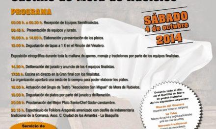 Final del concurso de cocina SeniorChef Gúdar-Javalambre (sábado, 4)