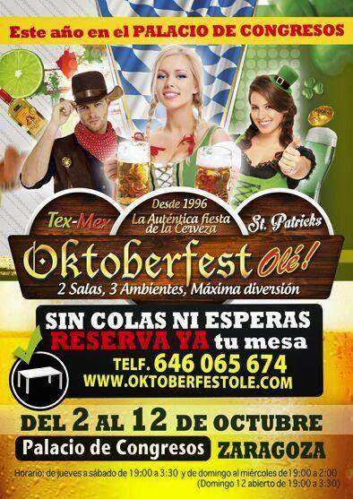 Oktoberfest (del 2 al 12 de octubre)