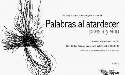 Poesía y vino (domingo, 21)