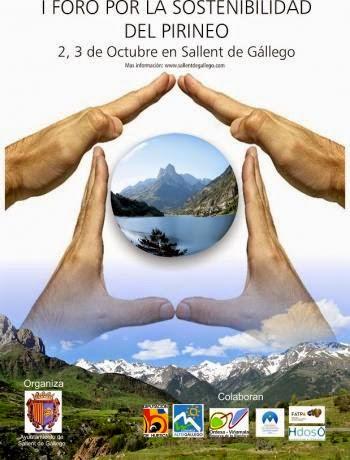 I Foro por la Sostenibilidad del Pirineo (2 y 3 de octubre)