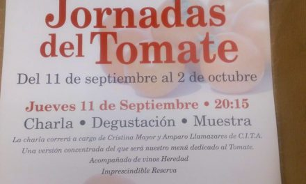 Presentación de las jornadas del tomate en Urola (jueves, 11)