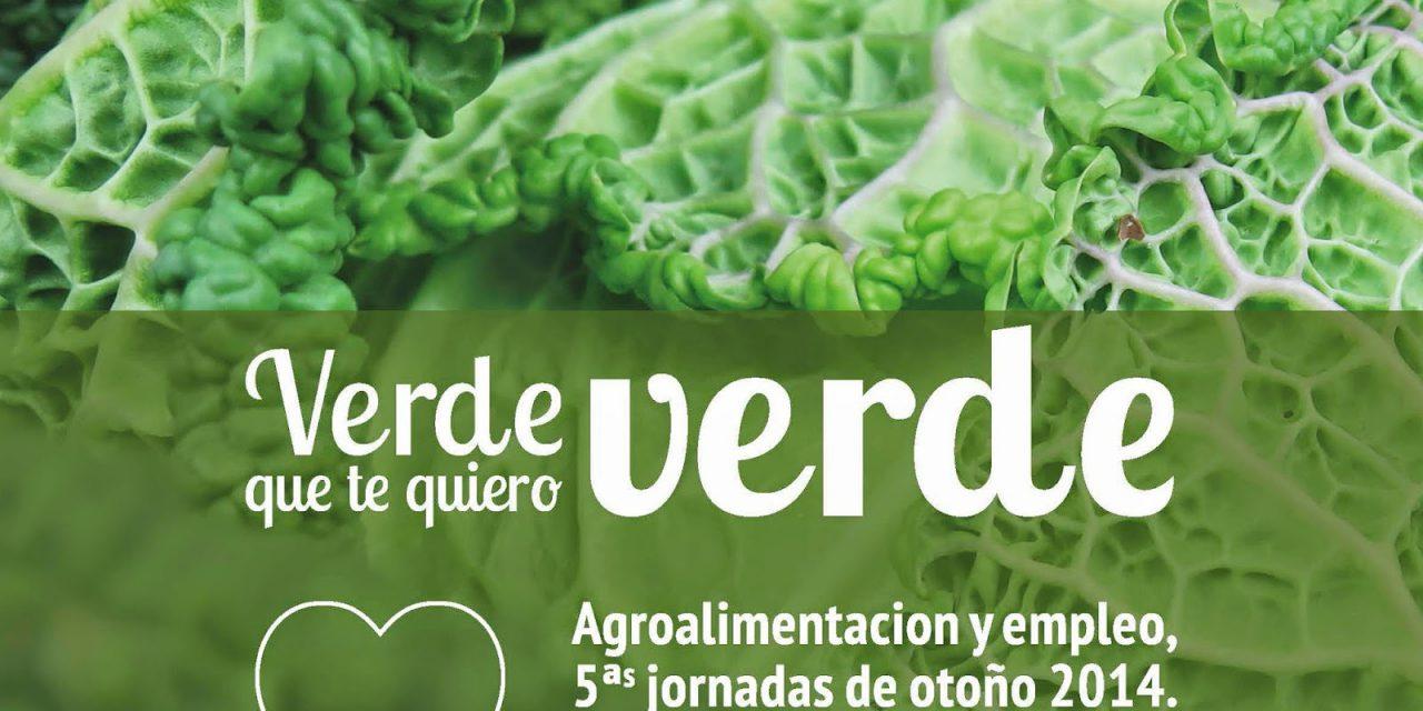 Jornadas 'Verde que te quiero verde' (viernes, 19 de septiembre; jueves, 2, 16 y 23 de octubre, y 6 de noviembre)