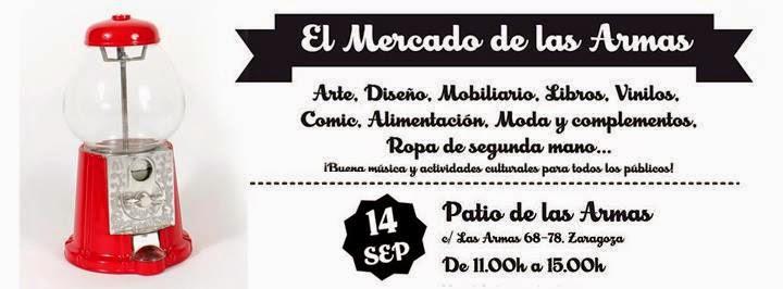 Mercado de las armas (domingo, 14)