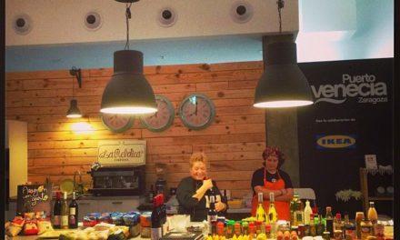 ARAGÓN CON GUSTO. Demostración de cocina y degustación (sábado, 25)