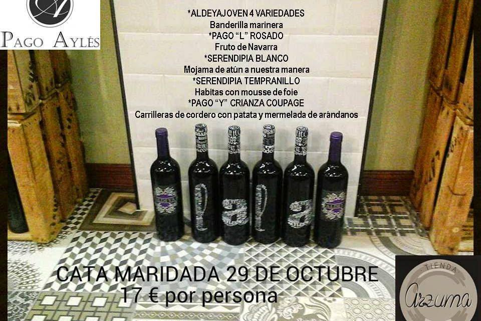 Cata de vino (miércoles, 29)