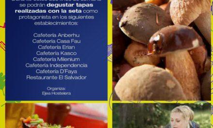 Jornadas micologicas Cinco Villas (del 31 de octubre al 9 de noviembre)