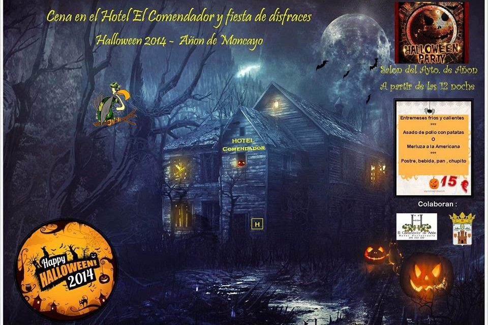 Noche de Halloween (sábado, 1)