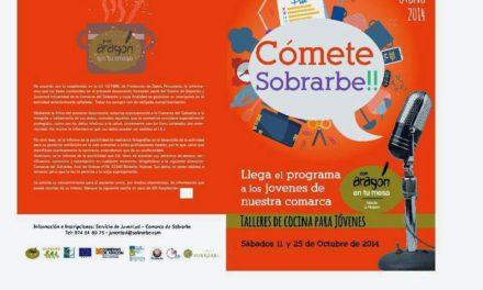 Talleres de cocina para jóvenes (sábados, 11 y 25 de octubre)