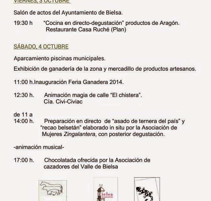 Feria ganadera en Bielsa (sábado, 4)