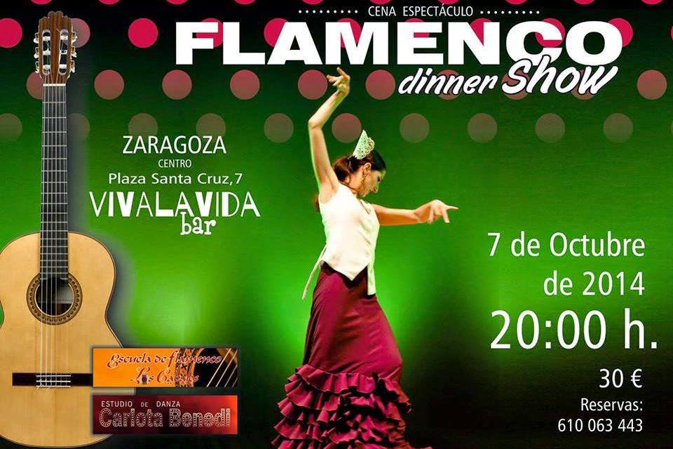 Cena espectáculo flamenco (martes, 7)