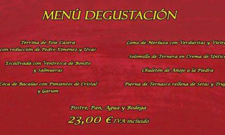 Menú degustación en Taberna Irulia (diario)