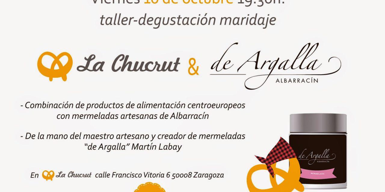 Taller maridaje de productos alemanes y aragoneses (viernes, 10)