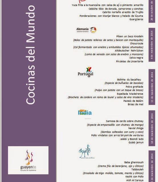Jornadas gastronómicas en Guayente (martes de noviembre)