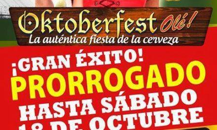 Oktoberfest (hasta el 18 de octubre)