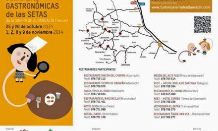Jornadas micológicas de otoño  en  la Sierra de Albarracín (días 8 y 9)