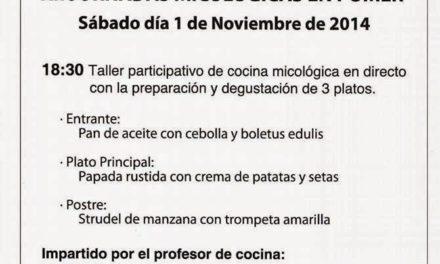 Jornada micológica (sábado, 1)