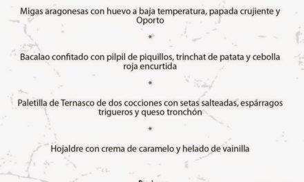 Menú de pilares en Vetula (del 3 al 13)