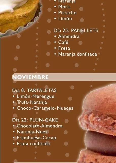 Curso de pastelería (sábado, 18)