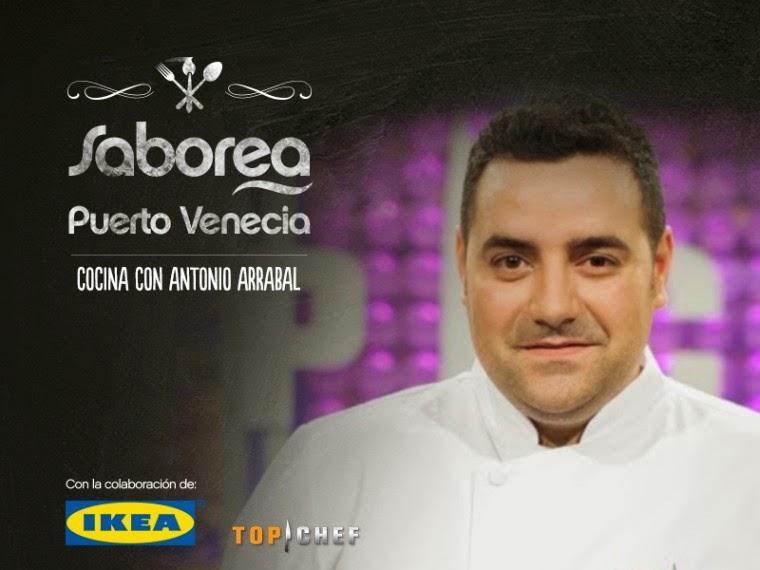Demostración de cocina por Antonio Arrabal (martes, 18)