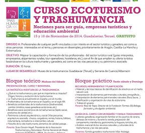 Curso de Ecoturismo y Trashumancia (días 15 y 16)