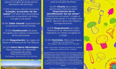 Jornadas micologicas Cinco Villas en Longás (días 15 y 16)