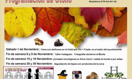 Jornadas micológicas en Añón de Moncayo (días 15 y 16)