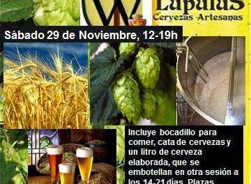 Curso de elaboración de cervezas todo grano (sábado, 29)
