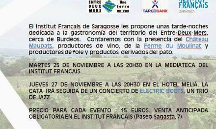 Encuentro gastronómico con Francia (jueves, 27)
