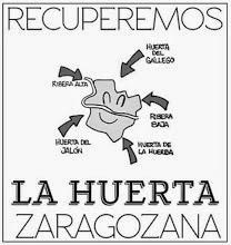 Reunión de la Plataforma por la huerta de Zaragoza (miércoles, 5)
