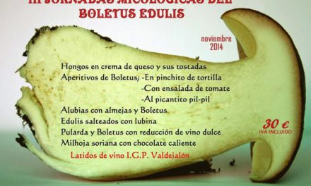 III Jornadas gastronómicas del boletus edulis en María Morena (hasta el 7 de diciembre)