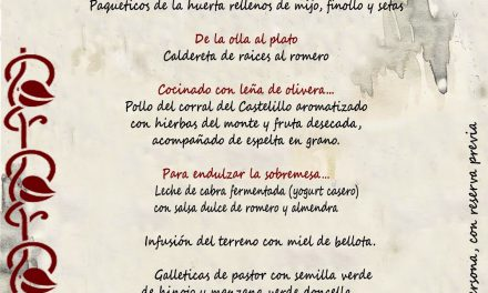 Menú íbero (hasta el domingo, 9)