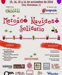Mercado navideño solidario (del 13 al 16)
