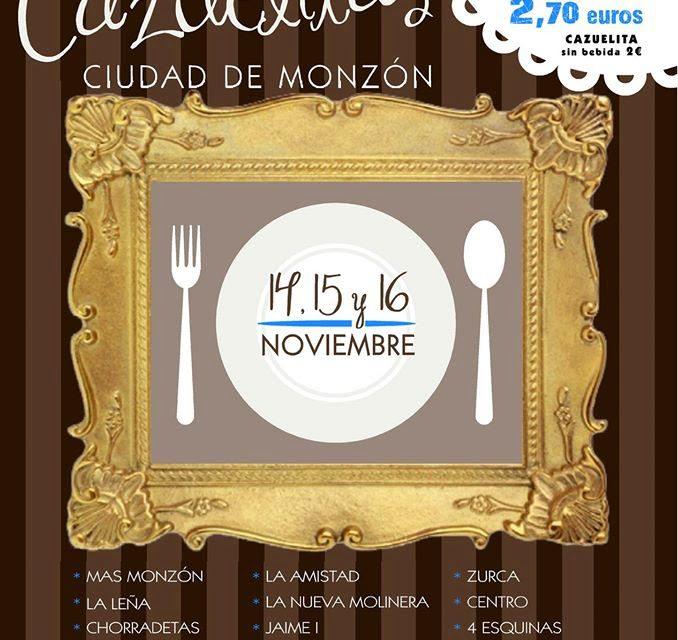 III Muestra de Cazuelitas Ciudad de Monzón (del 14 al 16)