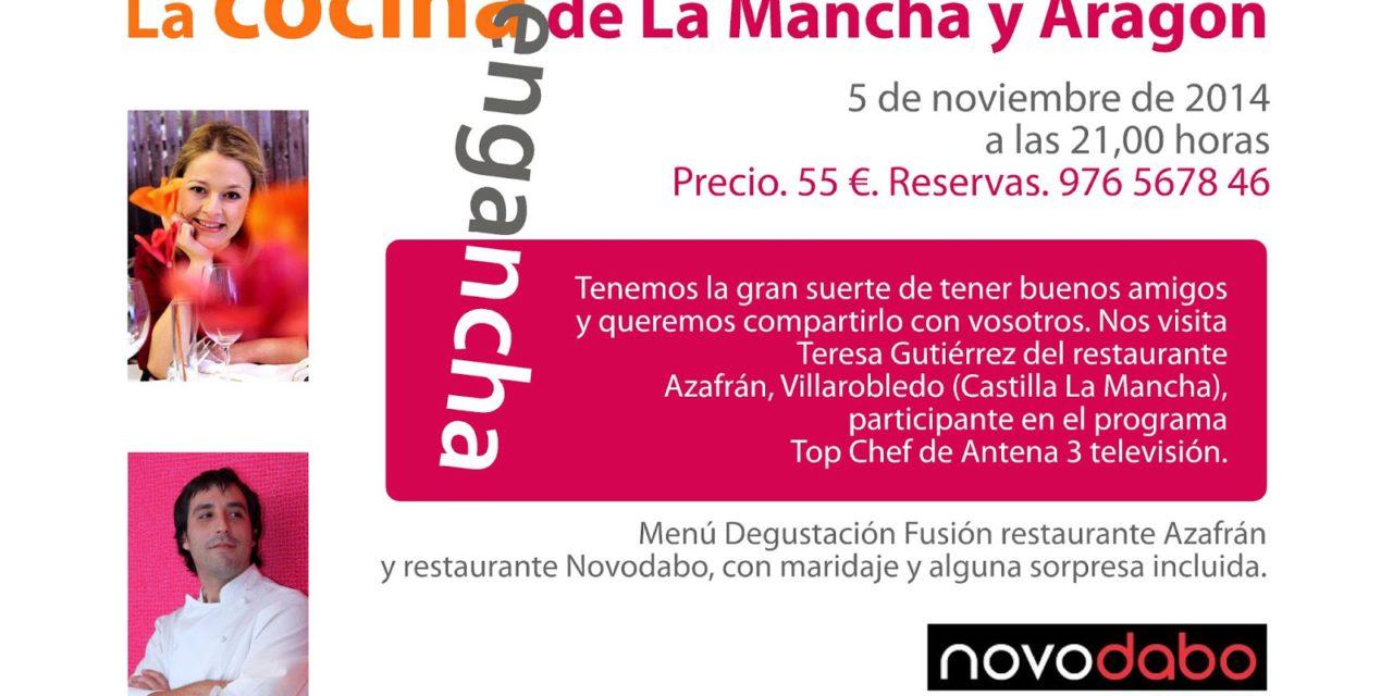 La cocina de La Mancha y Aragón en Novodabo (miércoles, 5)