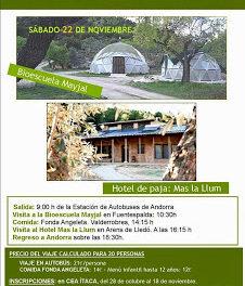 Ruta ecológica en el Matarraña (sábado, 22)