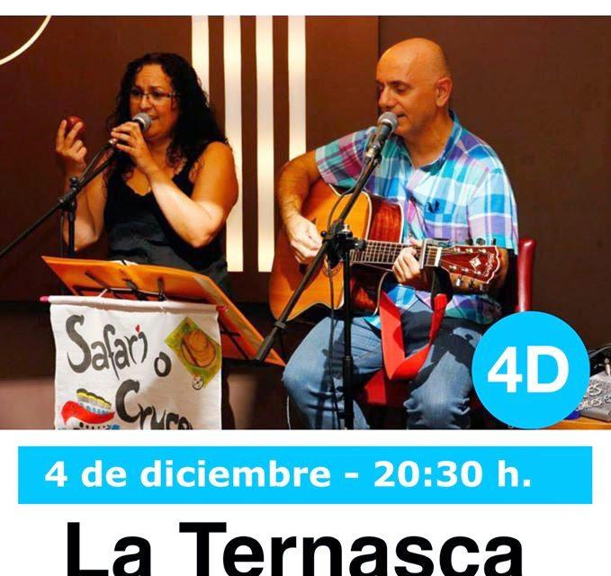 Música en La Ternasca (jueves, 4)
