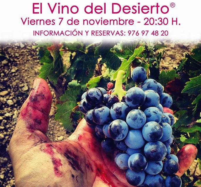 Cata de vino y degustación (viernes, 7)