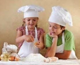 Cocina para niños (sábado, 22)