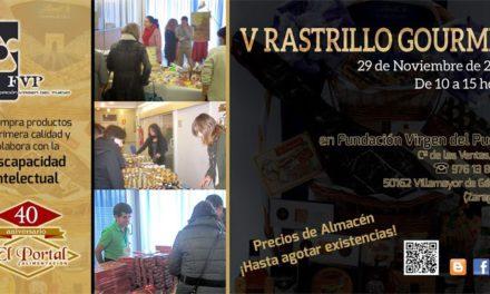 Rastrillo gourmet (sábado, 29)