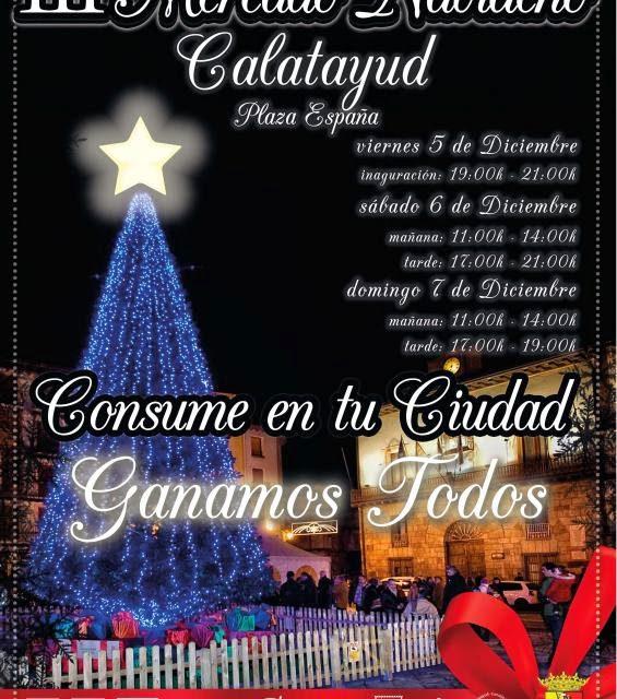 Mercado navideño (del 5 al 7)
