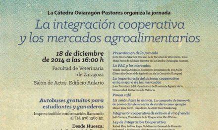 Jornada La integración cooperativa y los mercados agroalimentarios (jueves, 18)